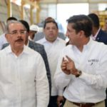 Danilo visita instalaciones de empresa North West Industries