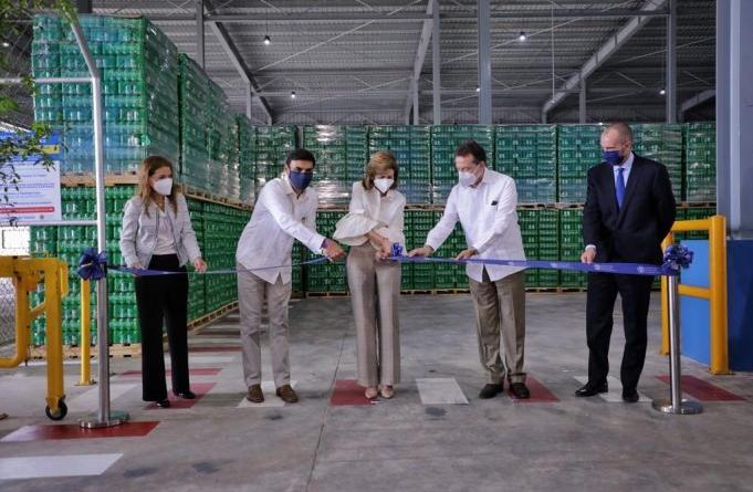 Cervecería inaugura centro de distribución con la presencia de la vicepresidenta Raquel Peña e Ito Bisonó